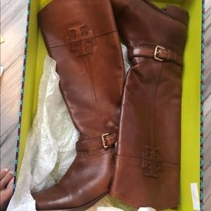 Tory Burch size 8 riding boots